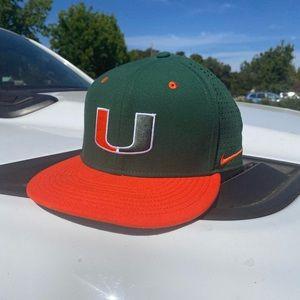 Men's 7 3/8 University of Miami Baseball Cap